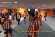 """""""Atletico"""" žaidėjams užkliuvo rusiškai kalbėjęs teisėjas: """"Tai labai keista"""""""