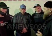 Paviešinti vaizdai iš A.Nurmagomedovo laidotuvių ir C.Nurmagomedovo padėka Čečėnijos lyderiui
