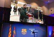 "L.Messi atidavė savo balsą ""Barcelonos"" prezidento rinkimuose"