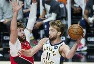 """D.Sabonio vedama """"Pacers"""" nutraukė nemalonią seriją Portlande"""