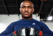 UFC čempionas K.Usmanas sureagavo į C.Covingtono pergalę prieš T.Woodley