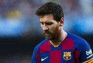 """""""Eibar"""" treneris nusistebėjo L.Messi: """"Šitas šmikis ilsisi rungtynių metu"""""""