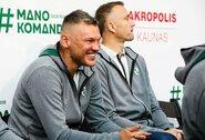 """""""Akropolyje"""" oficialiai pristatyta """"Žalgirio"""" komanda"""