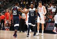 JAV rinktinė įveikė Ispanijos krepšininkus