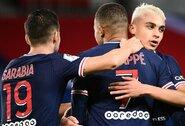 """PSG klubas nepaliko šansų """"Dijon"""" futbolininkams"""