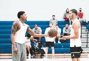 NBA leido komandoms atidaryti treniruočių bazes