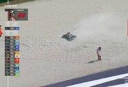"""F.Bagnaia Italijoje paleido pergalę iš rankų, tris """"MotoGP"""" lyderius skiria tik taškas"""