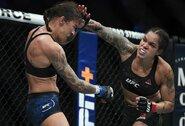 Penkių raundų kovoje A.Nunes apgynė čempionės titulą ir prisijungė prie elitinių UFC kovotojų