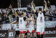 """""""Gulbelės"""" krepšininkai pragariškame Saudo Arabijos karštyje laimėjo grupės varžybas"""