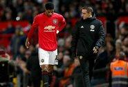 """""""Man Utd"""" galvos skausmas: nežinia, ar M.Rashfordas šį sezoną pasirodys aikštėje"""