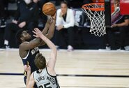 """Z.Williamsonas sužaidė geriausią mačą burbule, bet """"Pelicans"""" į atkrintamąsias nepateks"""