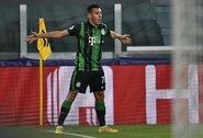 """""""Ferencvaros"""" puolėjui pakako drąsos: atšventęs savo įvartį suerzino patį C.Ronaldo"""