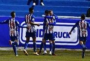 """Krachas tęsiasi: """"Real"""" Ispanijos Karaliaus taurės šešioliktfinalyje krito prieš trečioje pagal pajėgumą lygoje žaidžiančią """"Alcoyano"""""""