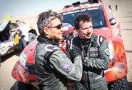 Paaiškėjo, kas lėmė A.Juknevičiaus šturmano sprendimą dalyvauti Dakare