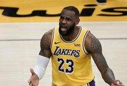 """Rezultatyviausias L.Jameso sezono pasirodymas ir pergalė prieš """"Bucks"""""""