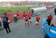 Baltarusijos futbolo lygoje drastiškai krito lankomumas, bet čempionato stabdyti nesiruošiama