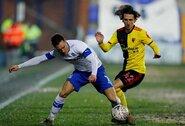 """Trečioje lygoje rungtyniaujanti """"Tranmere"""" išmetė """"Watford"""" iš Anglijos FA taurės"""