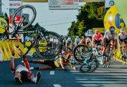 Po siaubingos avarijos dviračių lenktynėse Lenkijoje F.Jakobsenui sukelta dirbtinė koma