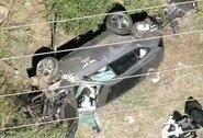 """""""Pasisekė, kad liko gyvas"""": didelę autoavariją išgyvenęs T.Woodsas pabudo po operacijos"""