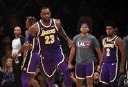 """""""Lakers"""" ir be A.Daviso nepaliko vilčių vicečempionams"""