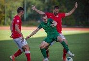 Latvijoje lietuviai žaidė po 90 minučių