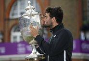 Visas britų viltis sudaužęs M.Berrettini tapo ATP 500 turnyro Londone nugalėtoju
