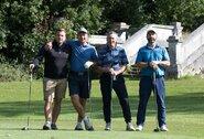 Susirinkti į tradicinį golfo turnyrą Jungtinės Karalystės lietuviams nesutrukdė net koronavirusas