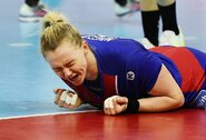Rusijos rinktinė su J.Žilinskaite pirmoji pateko į pasaulio čempionato pusfinalį