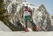 Europos biatlono čempionate – geriausias V.Strolios karjeros pasirodymas: iki medalio trūko 0.8 sek.