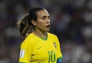 Pamatykite: Brazilijos kapitonės Martos įkvepianti kalba po nesėkmės pasaulio čempionato aštuntfinalyje užkariauja internetą