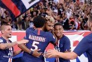 PSG triuškinamą pergalę apkartino E.Cavani ir K.Mbappe patirtos traumos