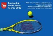 Teniso turnyre Kaune – daugiau nei 100 dalyvių