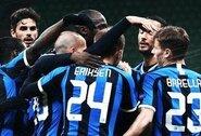 """Europos lyga: tuščiame stadione žaidęs """"Inter"""" susitvarkė su """"Ludogorets"""""""
