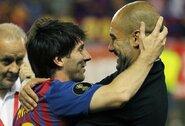 """P.Guardiola apie neįvykusį sandorį dėl L.Messi: """"Man nereikia nieko aiškinti"""""""