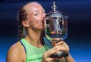 WTA turnyre Sankt Peterburge K.Bertens apgynė nugalėtojos titulą
