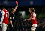 """D.Luizo išvarymas nepagelbėjo: """"Chelsea"""" neįveikė mažumoje likusių """"Arsenal"""""""