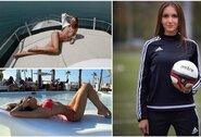 Pasaulio čempionate norinti dirbti teisėja po mėnesio dvejonių paviešino nuogas savo nuotraukas: nerimavo dėl internautų reakcijos