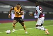 """Paaiškėjo, kiek uždirbs """"Wolverhampton Wanderers"""" puolėjas A.Traore"""