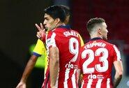 """""""Atletico"""" puolėjas L.Suarezas pasveiko nuo koronaviruso"""