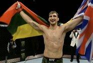 Su pirmojo raundo sirena –M.Bukausko smūgiai alkūne ir pergalingas debiutas UFC!