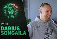 D.Songaila: apie darbą NBA, nuolat kramtomą gumą, T.Duncaną ir G.Arenasą