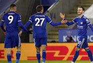 """""""Leicester City"""" užtikrintai susitvarkė su """"Chelsea"""" futbolininkais"""