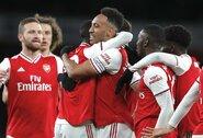 """""""Arsenal"""" vietiniame čempionate po pusantro mėnesio pertraukos iškovojo pergalę"""