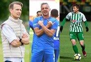 A lygos kapitonai: Geriausias Lietuvos futbolininkas – A.Novikovas, geriausias A lygoje – S.Mikoliūnas, treneris – R.Garastas