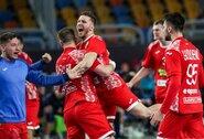 Trileriai pasaulio rankinio čempionate: baltarusiai paskutinę akimirką išplėšė lygiąsias, portugalai pataikė į virpstą