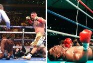"""Taip pat netikėtą pralaimėjimą 1990-aisiais patyręs M.Tysonas turi patarimą A.Joshua: """"Jeigu jo protas susijaukė –jis neįveiks A.Ruizo"""""""
