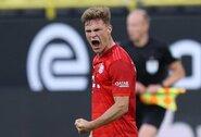 """Pergalingą smūgį rungtynėse su """"Borussia"""" prisiminęs J.Kimmichas: """"Šis įvartis – geriausias mano karjeroje"""""""