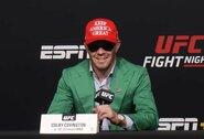 C.Covingtono žodžiai įžeidė UFC kovojančius juodaodžius: organizacija veiksmų nesiima