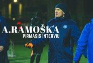"""A.Ramoška: apie treniravimo ilgesį ir naujus laukiančius iššūkius su """"Hegelmann Litauen"""" klubu"""