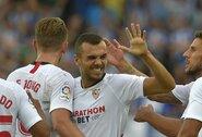 """Dar vieną pergalę Ispanijoje iškovojusi """"Sevilla"""" susigrąžino pirmą poziciją"""